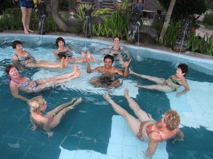 Термальные  ванны.  Бали